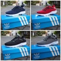Sepatu Pria Sneakers Adidas Alphabounce Sport Running Joging