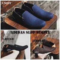 Adidas Simple Sepatu Pria Slip On kasual Santai