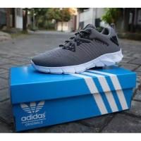 Sepatu Pria Adidas Alphabounce Abu