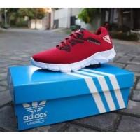 Sepatu Pria Adidas Alphabounce Merah
