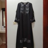 Gamis Maxi Dress Muslim Wanita Bordir