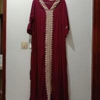 Gamis Maxi Dress Muslim Wanita Arab