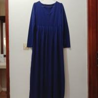 Gamis Cashmere Maxi Dress Muslim Wanita