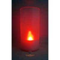 Lampu Lilin LED dalam gelas