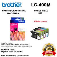 BROTHER Tinta LC400M   LC400 M   LC-400M Original Magenta