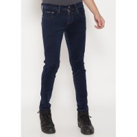 JBBoss Celana Panjang Skinny Jeans Stretch (Blue Black)