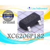 ORIGINAL XC6206P182MR XC6206 65K5 Fixed 8V To 1.8V SOT-23 LDO Youtai