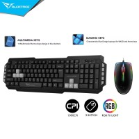 Alcatroz Xplorer M550 USB Gaming Keyboard Combo Asic 7 Wired RGB Mouse