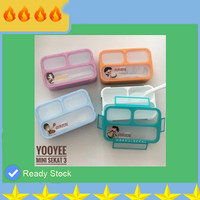 YOOYEE Mini Sekat TSFI7940 3 606 Lunch Box - Kotak Makan - Anti Tumpah