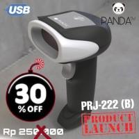 BARCODE SCANNER LASER PANDA PRJ-222 USB HITAM - BARCODE GARIS