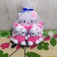 Boneka beranak hello kitty mini