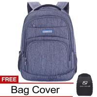 Navy Club Tas Ransel Laptop EICF Upto 15 Inch - Bonus Bag Cover