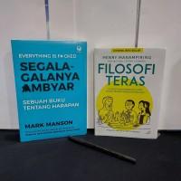 Paket buku motivasi filosofi teras segala galanya ambyar