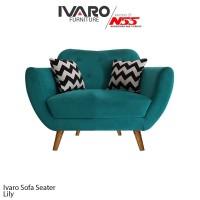Ivaro Sofa 1 Seater Lily Scandinavian