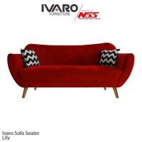 Ivaro Sofa 3 Seater Lily Scandinavian