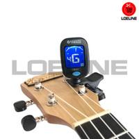 Gitar Tuner Yamada Clip-on Stem Chromatic Guitar Bass Ukulele Biola - YD Satu