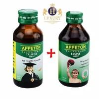 Paket Appeton Taurine + Lysine Penambah Berat Badan & Kecerdasan Anak