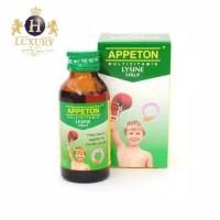 Appeton Lysine Syrup 60ml Penambah Berat Badan Anak