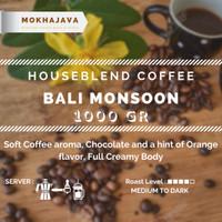 Bali Monsoon House Blend 1000gr Robusta Arabica Coffee Kopi Arabika