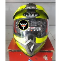 Helm KYT Enduro 1 Black Yellow