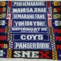 syal PSIS Semarang syal bola