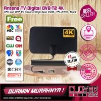 Antena / Antenna TV Digital DVB-T2 4K High Gain 25dB VFH and UHF Chann