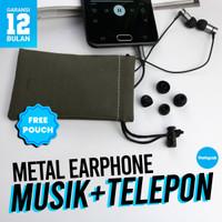 Remax Earphone RM-630 Garansi Resmi / Earphone Gaming / Earphone Murah - Tarnish