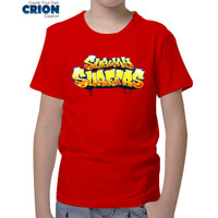 Kaos Game Subway Surfers - Subway Surfers Logo Anak - By Crion