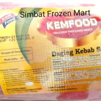 Daging Kebab Sapi Kemfood 1kg