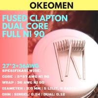 Fused Clapton Ni90 [27*2+36]