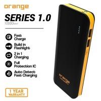 Delcell Orange 10000 mah Garansi 1Th Powerbank Delcell Orange 10000mah