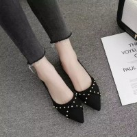Sepatu sandal sendal wanita kerja flat shoes teplek rs 23