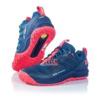 YONEX ECLIPSION 3 Sepatu Tenis - Navy red