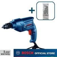 Bosch Bor Tangan Listrik dengan CYL-4 Mata Bor Set 5Pcs GBM 350