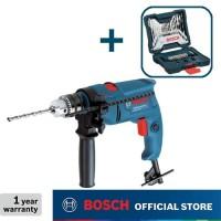 Bosch Bor Tangan Listrik Impact dengan Mata Bor 33Pcs X-Line GSB 550