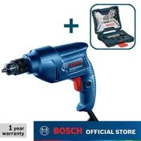 Bosch Bor Tangan Listrik dengan Mata Bor 33Pcs X-Line Set 10mm GBM 350