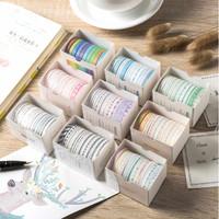 Washi Tape Macarons set of 10pcs / Masking Tape / Selotip Jepang - Motif A