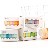 Washi Tape Macarons set of 6pcs / Masking Tape / Selotip Jepang - Motif C