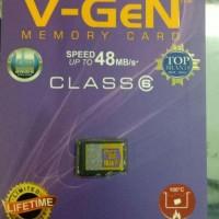 Memory Card VGEN MICRO SD 16GB class 6 Original Kartu Memori Hp V-Gen