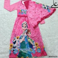 Hot Produk Baju Muslim Gamis Anak Perempuan 4 5 6 7 Tahun Map009 - 4