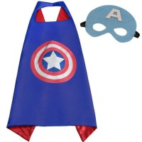 Dijual Jubah Superhero Batman Superman Captain America Anak-Anak +