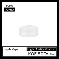 KUALITAS NOMER SATU HOP N VAPE KOF RDTA REPLACEMENT GLASS | KACA