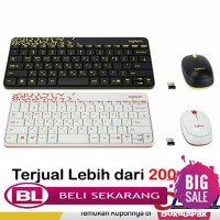 Logitech mk240 Wireless Combo Mouse & Keyboard - Hitam