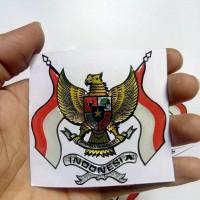 kualitas emblem burung garuda stiker timbul sticker mobil motor