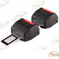 Colokan Safety Belt 2 In 1 Hitam Mobil Mazda 2
