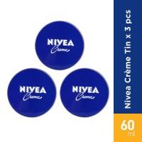 NIVEA Creme tin 60 ml x 3 PC