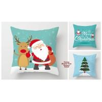 BANTAL + Sarung Bantal Sofa Nuansa Natal GREEN (45 x 45) christmas