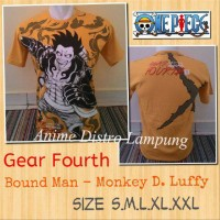 kaos gear fourth Luffy anime one piece