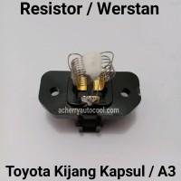 Resistor Werstan AC Mobil Kijang Kapsul Panther 3 Kaki Blower A3