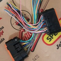full kabel soket pin 34 asli ori ecu ecm suzuki fi new satria f f